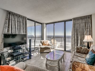 Photo for Grand Top Floor Condo, Convenient Beach Access | Crescent Sands CB - B6