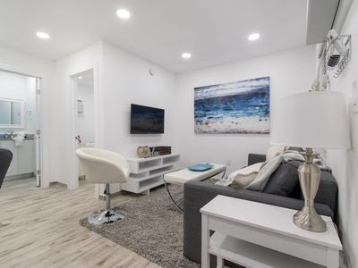 Photo for Stylish 1BR W/parking Space & Walk to the Beach #1