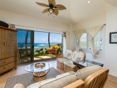 Photo for Beautiful Oceanfront Townhome ~ Romantic Tropical Retreat