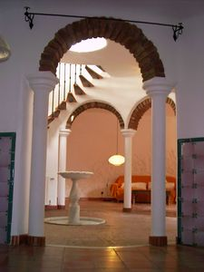 Photo for Huge secluded  villa, lovely garden, pool, 350m to town, air-con, WiFi, ping-p