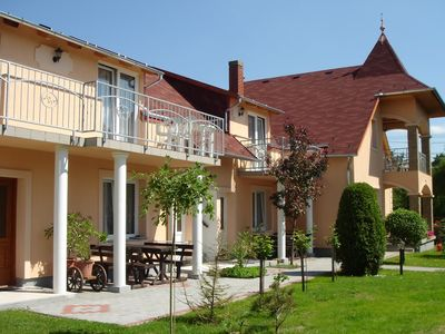 Photo for Holiday apartment with gazebo and barbecue