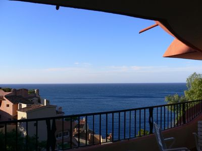 Photo for Near Cannes, luxurious seafront estate of Port-la-Galère, 3 rooms, sea view