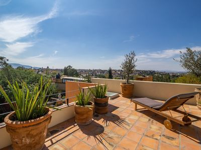 Photo for Casa Carolina - a spacious, central, light-drenched house with 5 great terraces