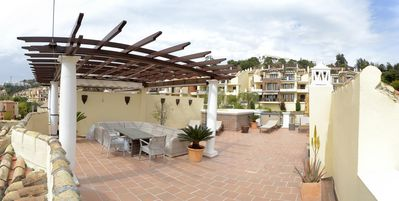 Photo for Stunning Roof Top Penthouse - Las Jacarandas, Los Arqueros (NEW FOR 2019)