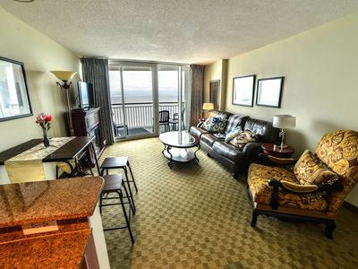 Photo for Amazing Luxury Direct Ocean Front 1BD/1BA,  Modern Decor. Great Location!