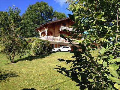 Photo for Traditional chalet Haute-Savoie near Lake Geneva. Sleeps 10