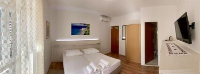 Photo for Brand new room situated on a mediterranean square with a charming restaurant
