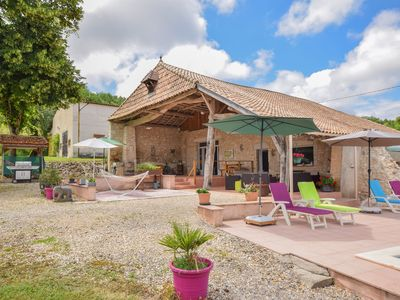 Photo for Spacious holiday home in Castelmoron-sur-Lot with Garden