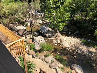 Photo for Riverside Retreat in the Heart of Chimney Rock Village