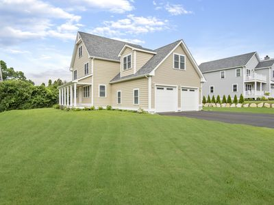 Photo for Gorgeous Brand New House with Short Walk To Beach, Great For Families/Central AC