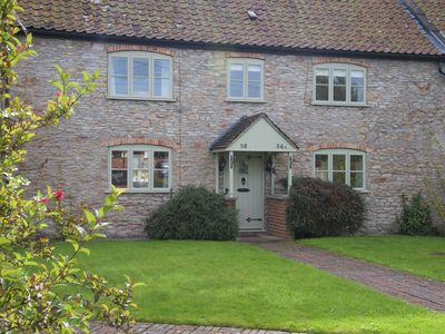 Photo for Classic Somerset cottage. Close to Wells Cathedral and City Centre