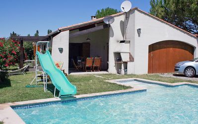 Photo for Well-equipped villa with private pool is located in Cazilhac, Aude, France,