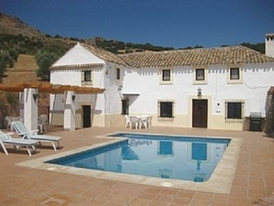 Photo for Andalucian Farmhouse with Private Pool overlooking Granada and the Sierra Nevada