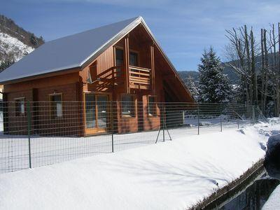 Photo for Chalet rental in La Bresse winter break 7 minutes from the ski slopes Hohneck