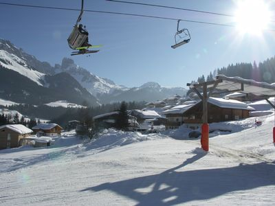 Photo for 50 m to the slopes, private parking
