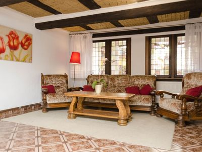 Photo for Sunny apartment in the seaside agrotourism. 3 bedrooms, living room, garden.