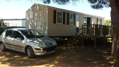 Photo for MOBIL HOME 6 people in .camping 4 *