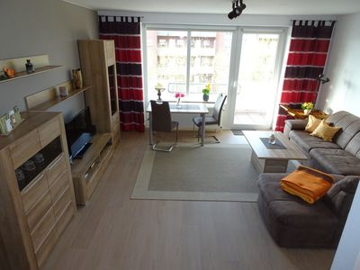 Photo for Our sunny, familyfriendly Holiday Apartment near the Beach is central located