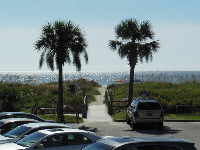 Photo for 117 Admirals Row - Bldg. A  - Beautiful Ocean View! Just 50 Feet from the Sand!!