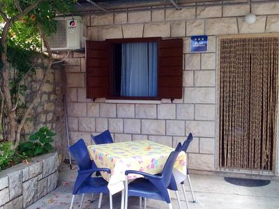 Photo for Studio flat near beach Postira (Brač)
