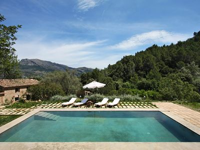 Photo for 3 bedroom Villa, sleeps 8 in Pollença with Pool and WiFi