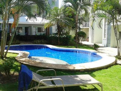 Photo for 2 BEDROOMS, 2.5 BATHROOMS CONDO STEPS FROM THE BEACH AND DOWN TOWN TAMARINDO