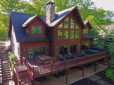 Photo for Timberlodge- Large Lakefront Home w/ Private Indoor Pool