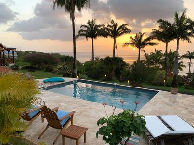 Photo for Between luxury and authenticity.  Beautiful sea view property, 100m from the beach.