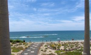 Photo for STAY AT OUR OCEAN FRONT GROUND FLOOR 2 BEDROOM CONDO, OCEAN  AT Princesa E 106