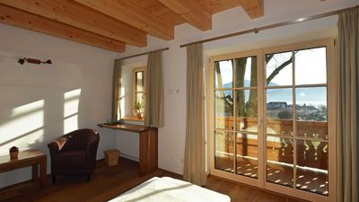 Photo for Double room nut with balcony and lake view - Grablerhof