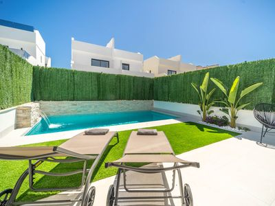 Photo for Brand New Modern Villa with heated pool - Los Alcazares-Murcia Vacations