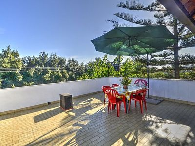 Photo for Villa Salice: A welcoming apartment that is part of a villa situated on the eastern slopes of Mount Etna, with Free WI-FI.