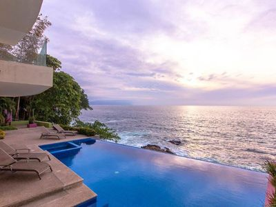 Photo for Serene & Secluded Ocean front Condo - 2 bdrm/2 ba