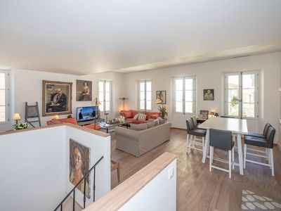 Photo for Village house on 3 levels completely renovated in the heart of Saint-Tropez