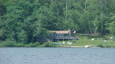 Photo for 4 Season Secluded Lakefront Home near Ski Mountains