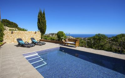 Photo for TYPEE - Mediterranean villa for rent for 6 people on the Benissa coast