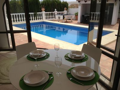 Photo for Villa With Private Pool,Jacuzzi,pool table,air conditioning,wifi,table tennis