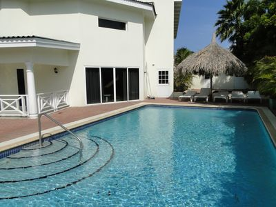 This villa has a lot of space and is suitable for large families