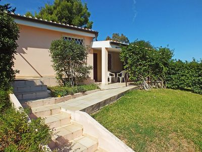 Photo for House in the center of Costa Rei with Internet, Air conditioning, Parking, Garden (128133)