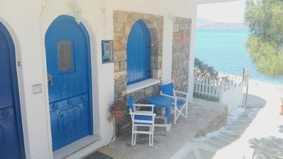 Photo for Eleftheria sea side traditional house