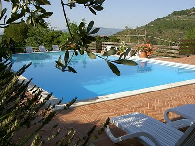 Photo for Vacation home Villino Pierina  in Loro Ciuffenna, Florence Countryside - 4 persons, 1 bedroom