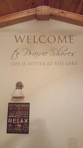 Photo for Welcome to our Prairie shores property on the chain of lakes in beautiful Chetek