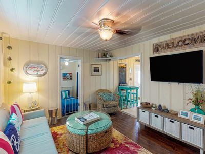 Photo for NEW LISTING  Saltwater Sweetie! Colorful Cottage - Close to Everything