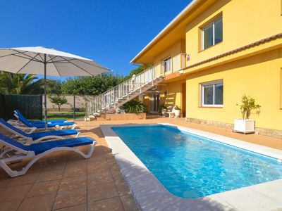 Photo for Club Villamar - Spacious 2 story villa composed of two independent apartments connected through e...
