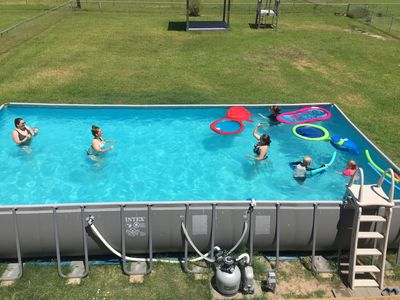 Photo for 6/18-21 now open Great pool, Hot Tub, Bikes, Air Hockey & Ping Pong tables!