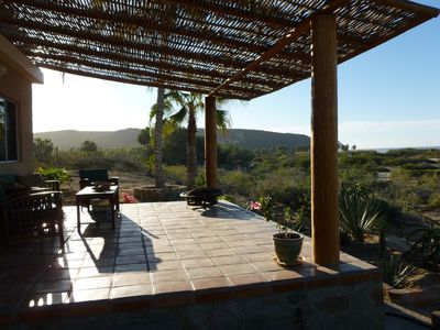 Photo for On The Beach In La Cachora, Minutes From The Village Of Todos Santos.