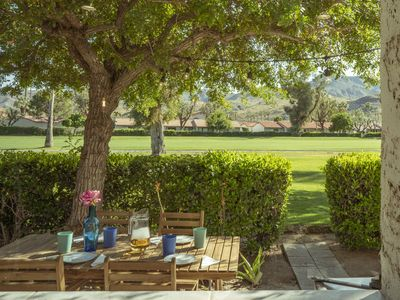 Photo for Quiet, comfortable, desert getaway in golf course 2-bed-2-bath newly remodeled