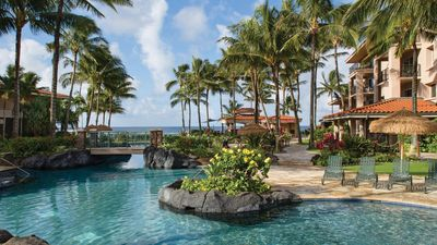 Photo for Marriott's Waiohai Beach Club, Oceanfront resort! 2 bed. Over 450 Vrbo reviews!