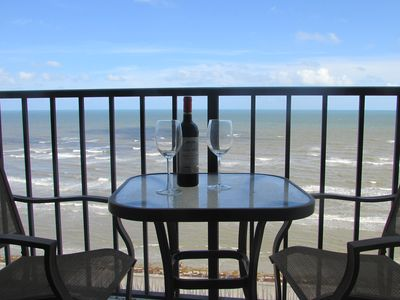 Photo for Modern Recently Renovated Beachfront Condo with Amazing Ocean View