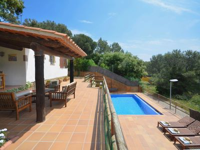 Photo for Villa Sa Garoina, is situated in the historical town of Begur, about 10 minutes from the c